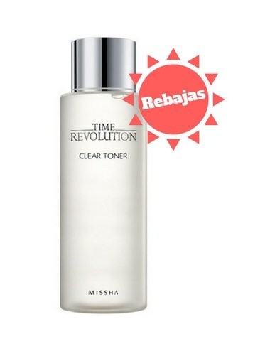 Tónico MISSHA Time Revolution Clear Toner