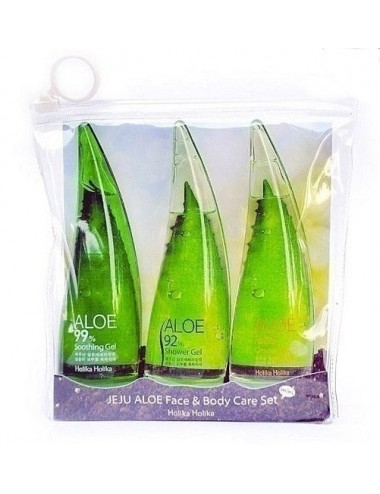 Holika Holika Jeju Aloe Face & Body Care Set (3 * 55ml)