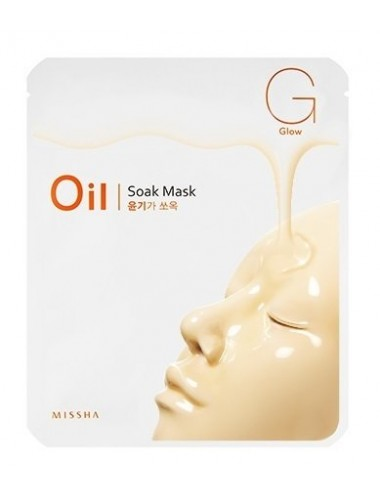 Mascarilla Reafirmante e Iluminadora Oil Soak Mask Glow