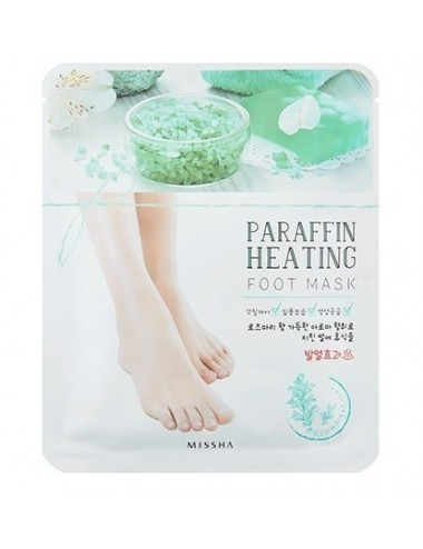 Mascarilla Hidratante de Parafina para Pies Missha Paraffin Heating Foot Mask