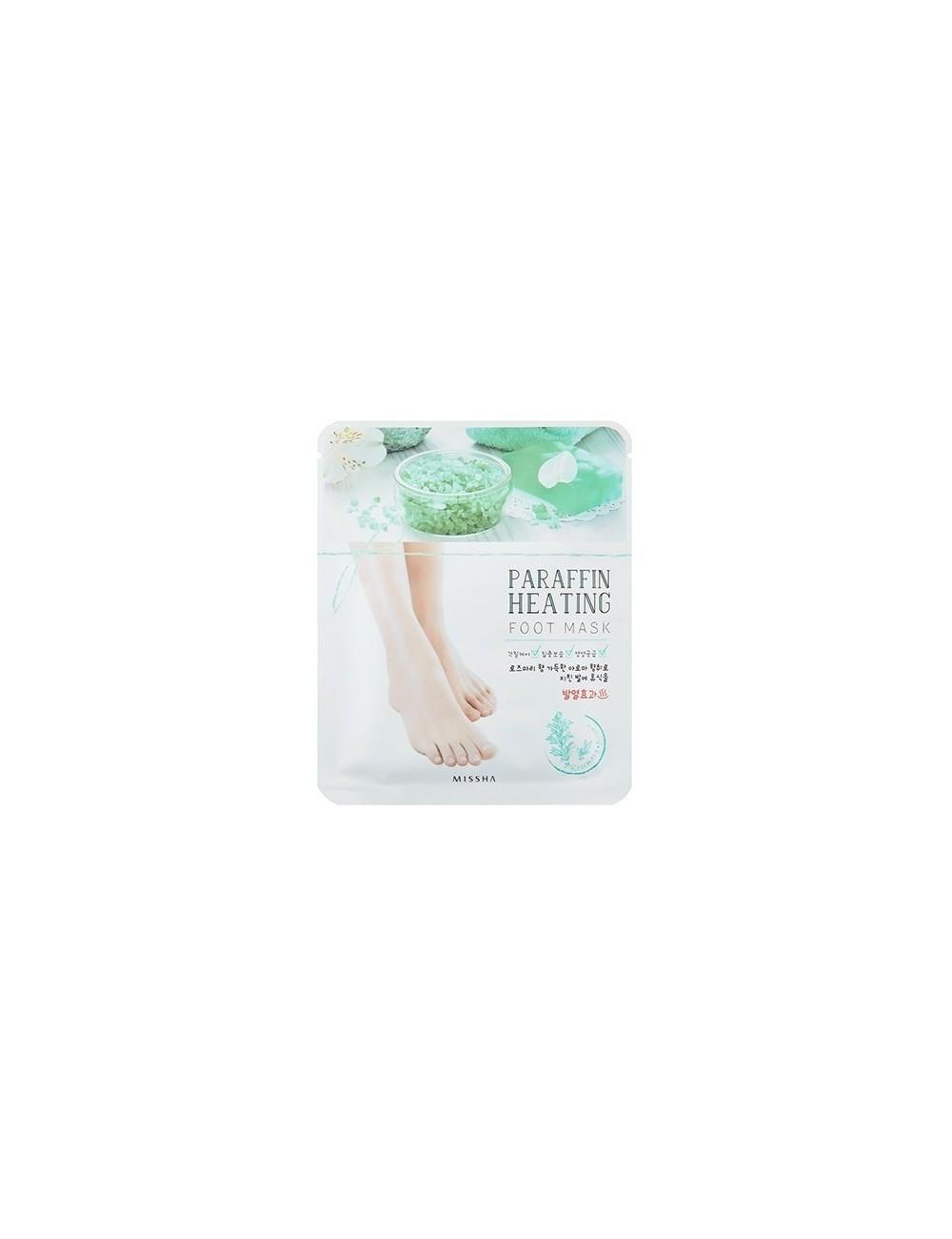 Mascarilla Hidratante de Parafina para Pies Missha Paraffin Heating Foot Mask