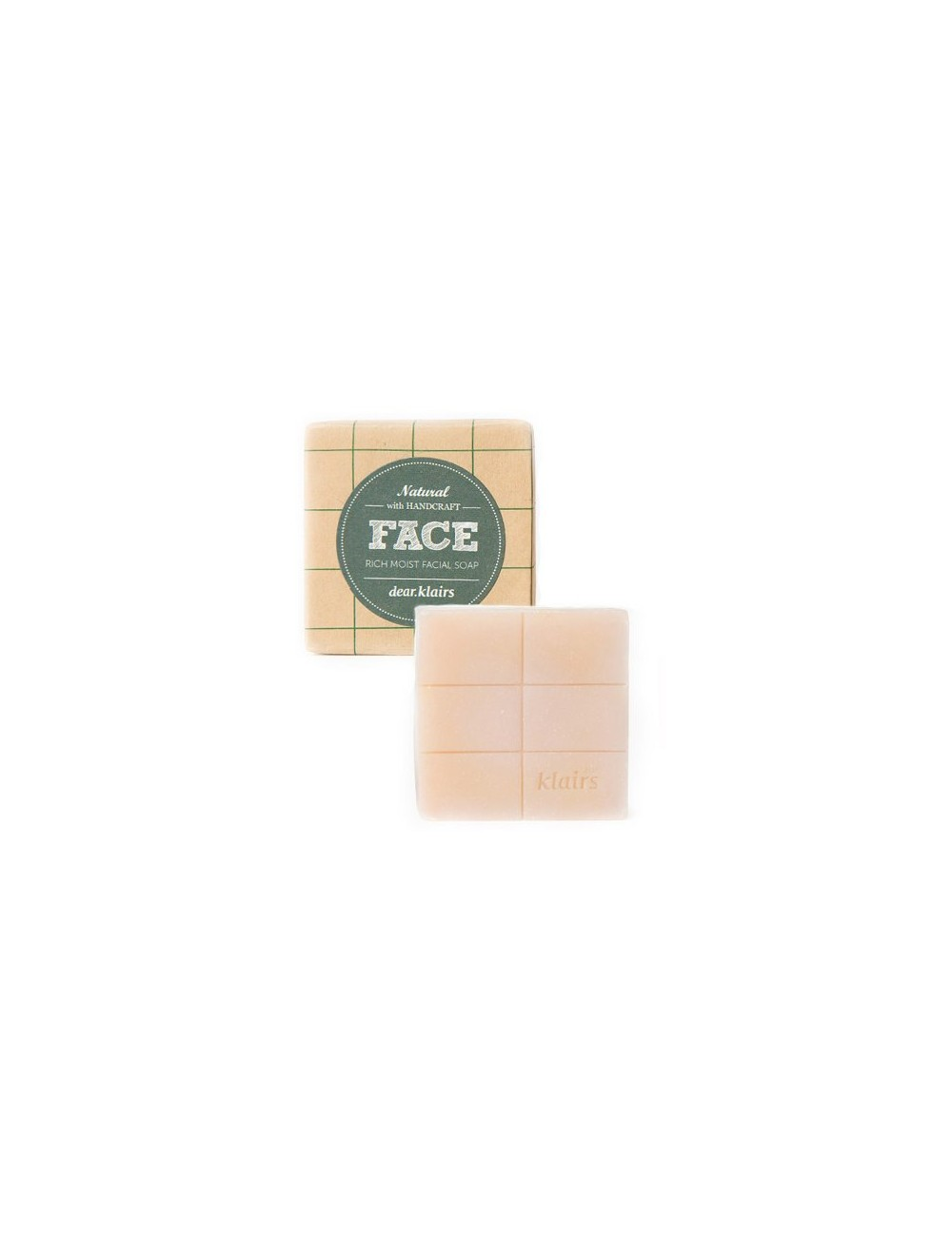 Jabón Facial para Piel Sensible Face Rich Moist Facial Soap