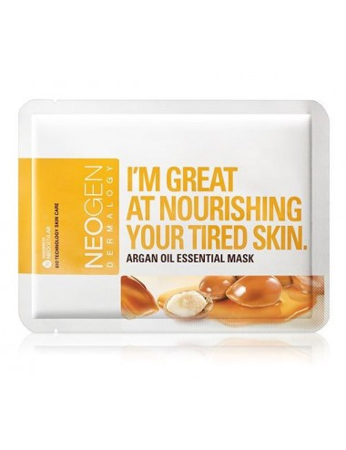 Mascarilla Nutritiva NEOGEN Argan Oil Essential Mask
