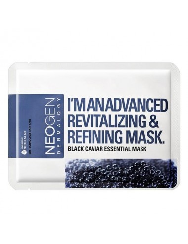 Mascarilla Revitalizante y Reafirmante NEOGEN Black Caviar Essential Mask