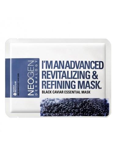 Mascarilla Revitalizante y Reafirmante NEOGEN Black Caviar Essential Mask