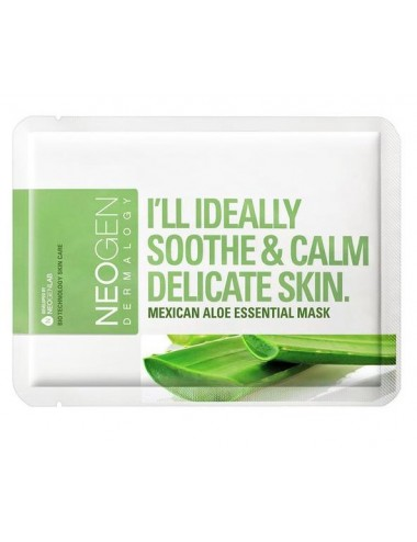 Mascarilla Calmante NEOGEN Mexican Aloe Essential Mask