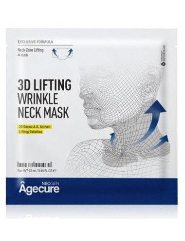 Mascarilla Anti-arrugas para el Cuello NEOGEN Agecure 3D Lifting Wrinkle Neck Mask