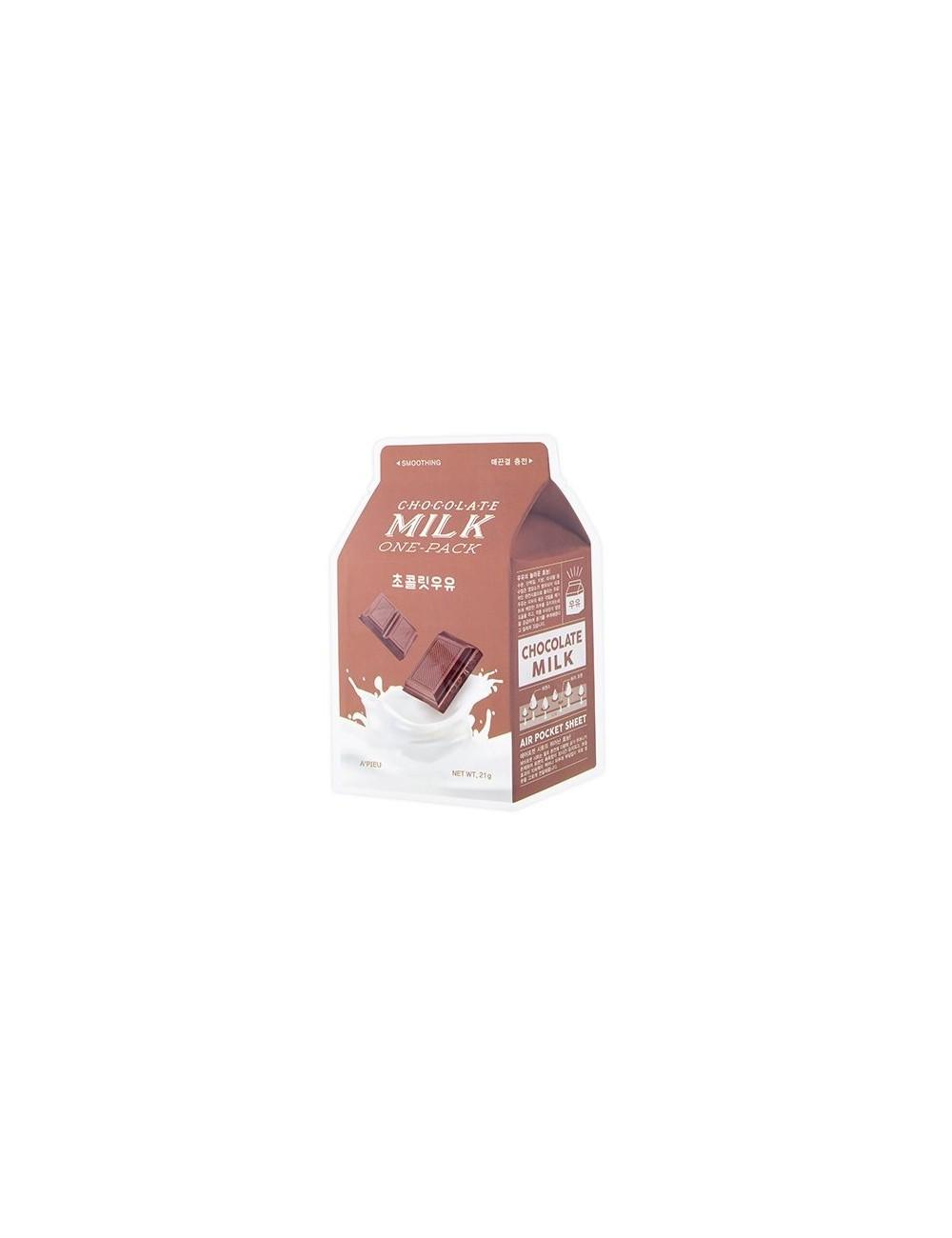 Mascarilla Purificante A'pieu Chocolate Milk Sheet Mask
