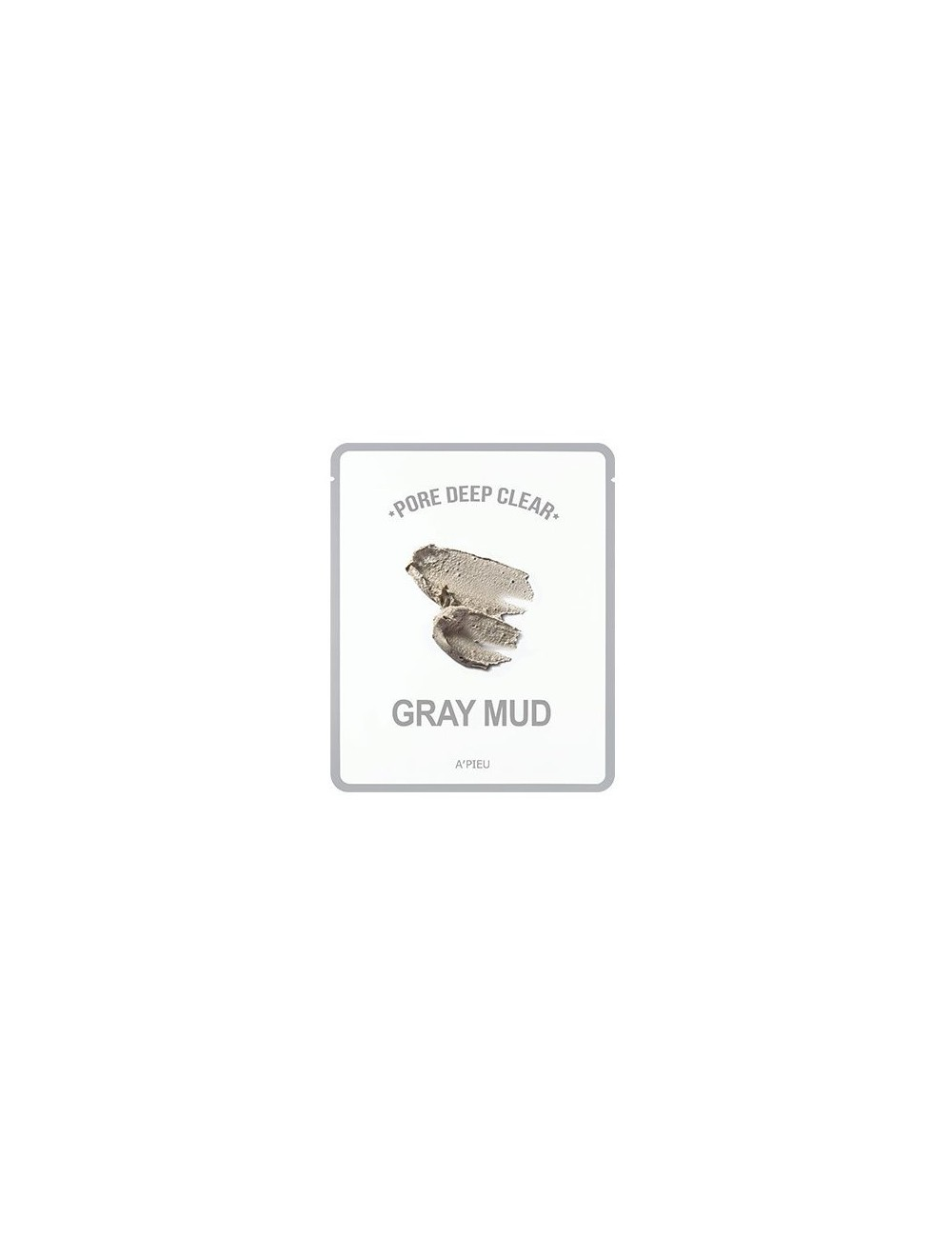 Mascarilla Purificante A'pieu Pore Deep Clear Gray Mud Mask