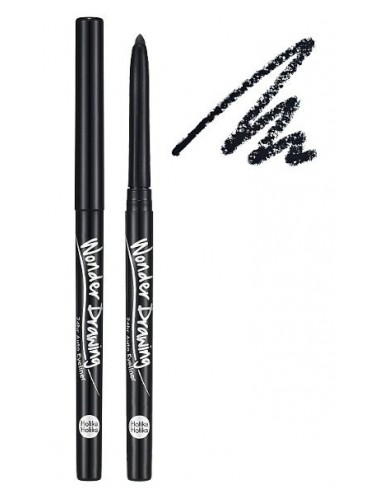 Holika Holika Lápiz de Ojos Negro Wonder Drawing 24hr Auto Eyeliner 01 Black
