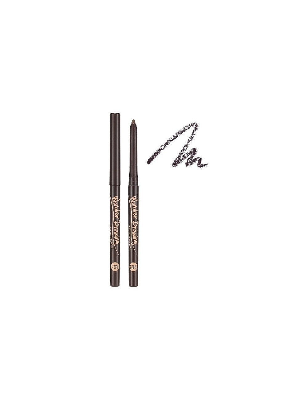 Holika Holika Lápiz de Ojos Marrón Wonder Drawing 24hr Auto Eyeliner 02 Brown