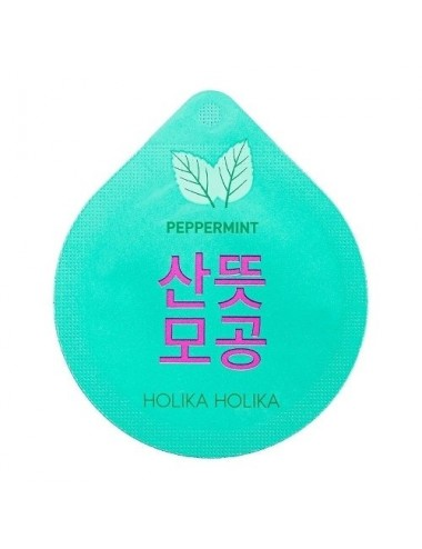 Mascarilla Purificante Holika Holika Super Food Capsule Pack Peppermint (Menta)
