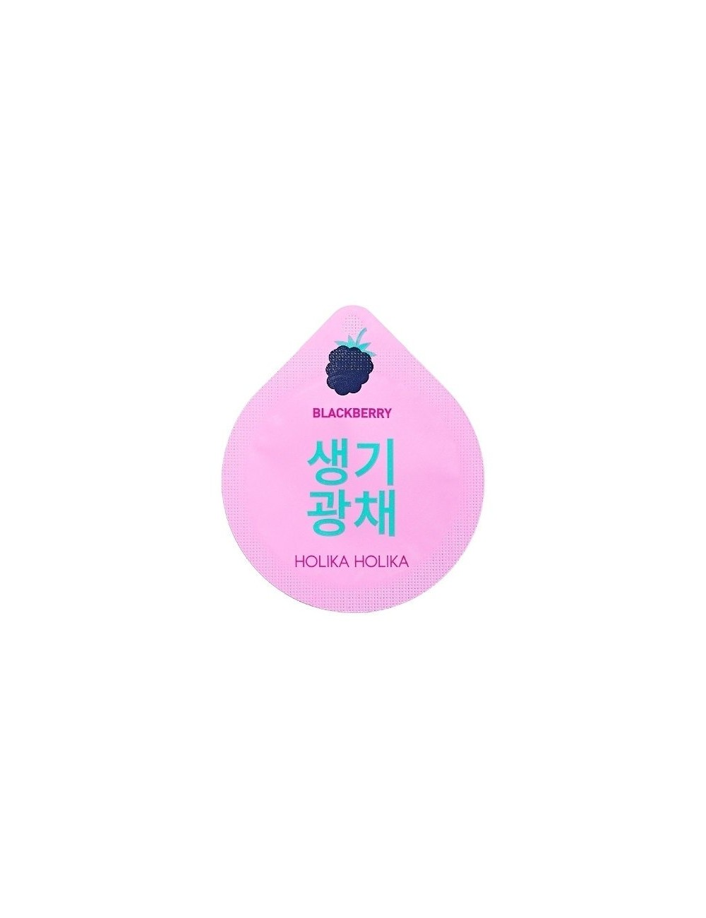 Mascarilla Nocturna Iluminadora Holika Holika Super Food Capsule Pack Blackberry (Mora)