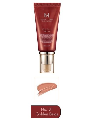 M Perfect Cover BB Cream nº 31 SPF 42 PA +++ 50ml