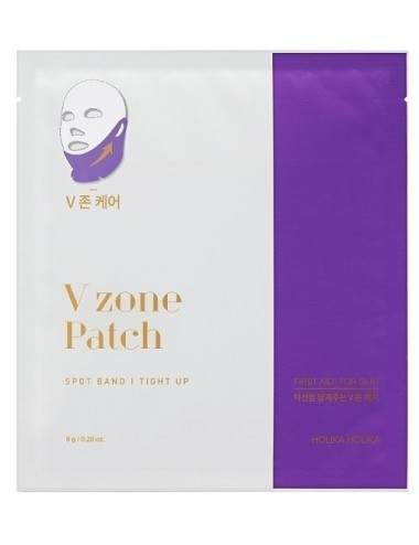 Mascarilla para Ovalo Facial y Cuello Holika Holika V Zone Patch