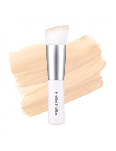 Brocha para Base de Maquillaje Holika Holika Feathery Mini Angle Brush
