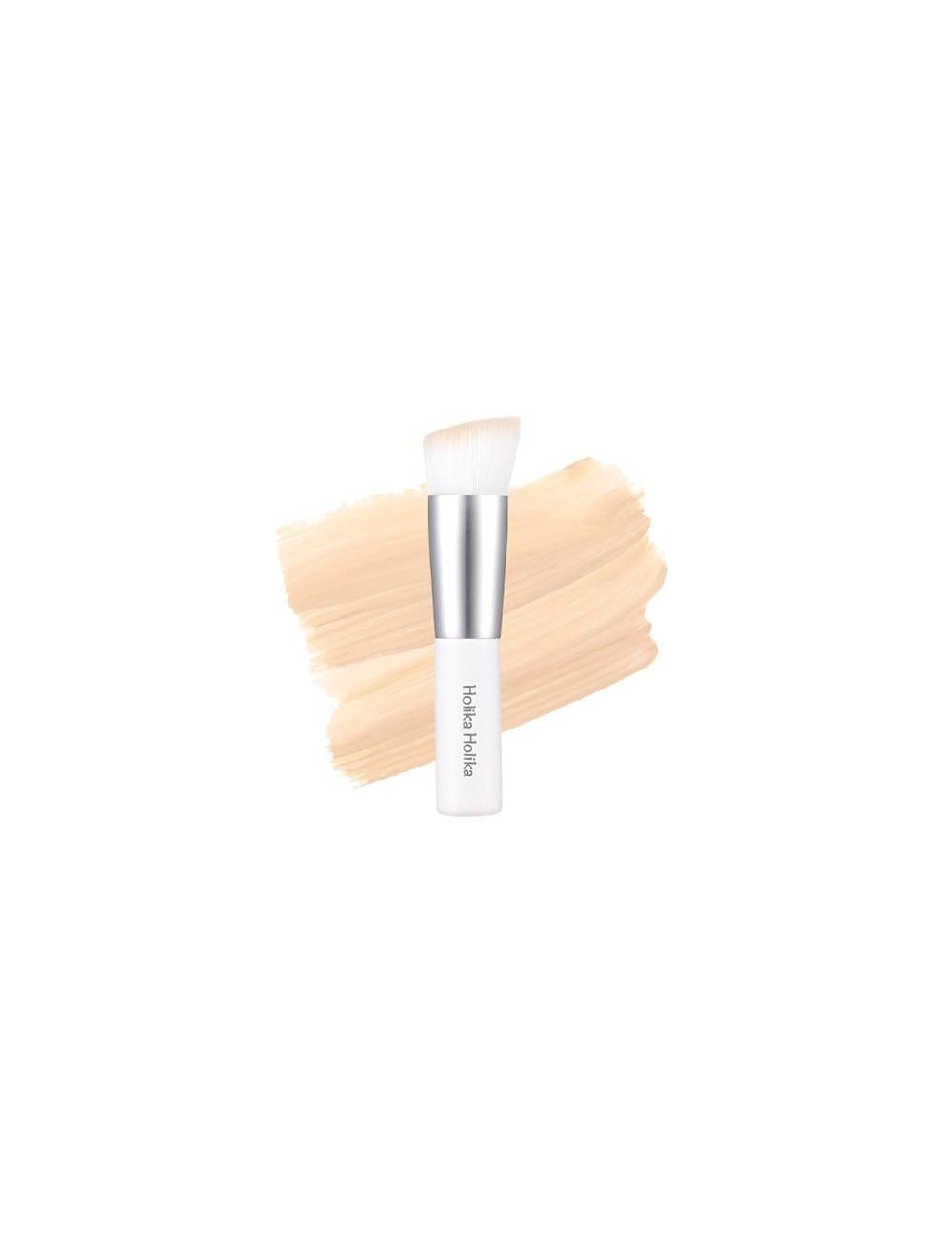 Brocha para Base de Maquillaje Holika Holika Feathery Mini Angle Brush
