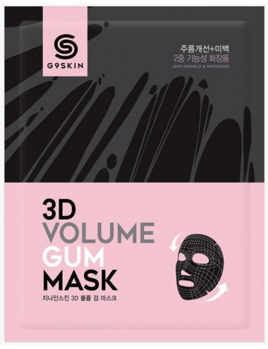 Mascarilla Anti-Edad G9SKIN 3D Volume Gum Mask