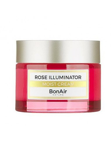 Crema Iluminadora Anti-edad BonAir Rose Illuminator Moist Cream