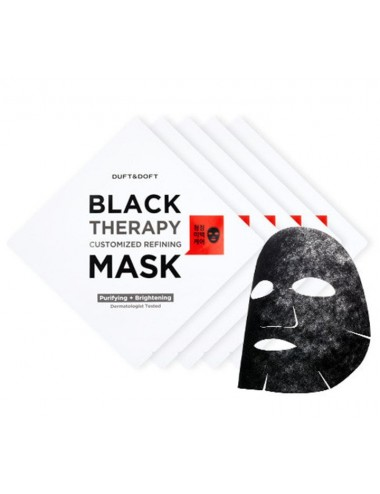Mascarilla Purificante e Iluminadora Duft & Doft Black Therapy Custimized Refining Mask