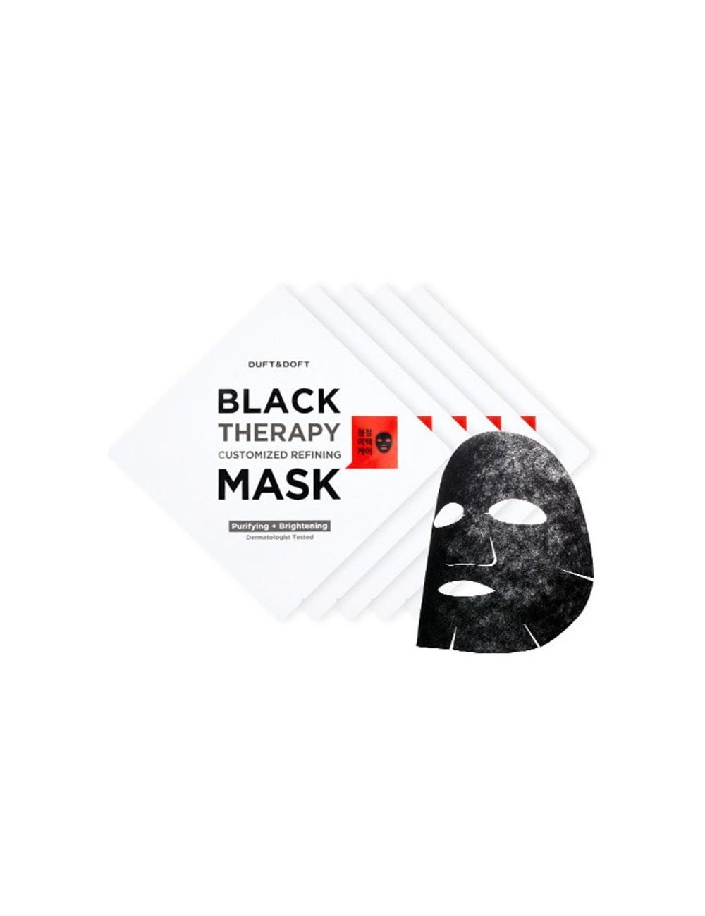 Mascarilla Purificante e Iluminadora Duft & Doft Black Therapy Custimized Refining Mask