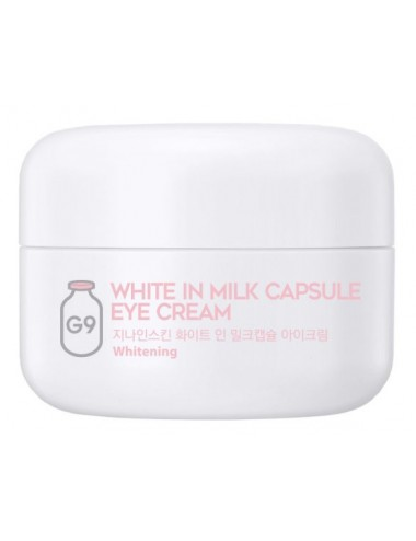 Contorno de Ojos Antiojeras y Antiedad G9SKIN White In Milk Capsule Eye Cream