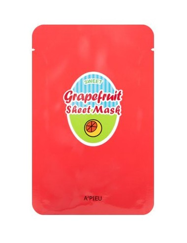Mascarilla Purificante A'pieu Grapefruit & Sparkling Sheet Mask
