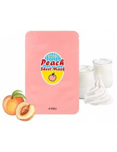 Mascarilla Suavizante A'pieu Yogurt & Peach Sheet Mask