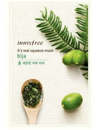 Mascarilla Calmante Innisfree It's Real Squeeze Mask Bija