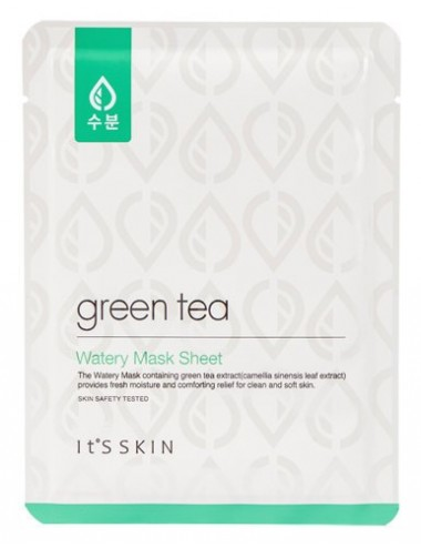 Mascarilla Hidratante It's Skin Green Tea Watery Mask Sheet