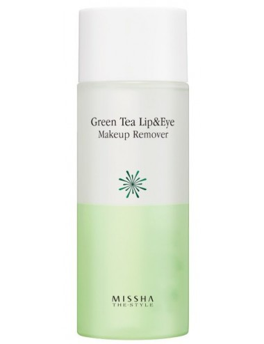 Desmaquillador para Ojos y Labios MISSHA The Style Green Tea Lip & Eye Makeup Remover