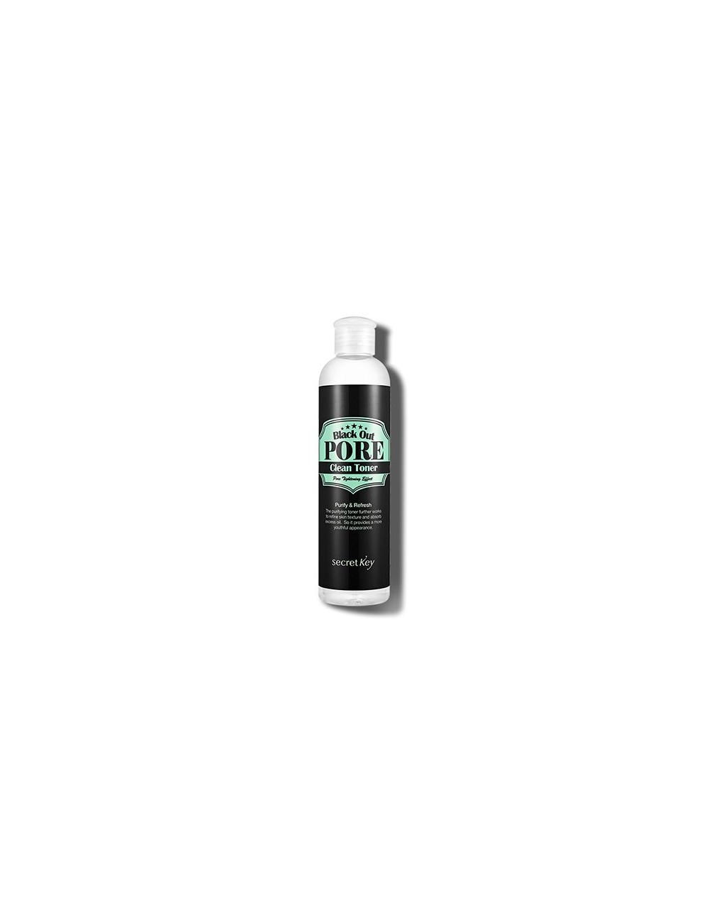 Tónico Secret Key Black Out Pore Clean Toner