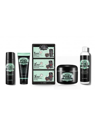 Set Secret Key Black Out Pore