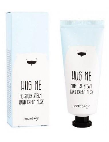 Crema Hidratante para Manos Secret Key Hug Me Moisture Steam Hand Cream Musk
