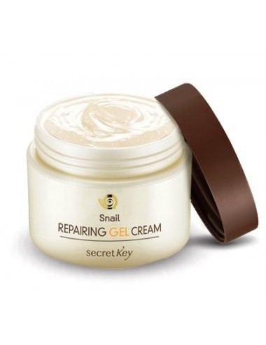 Crema Hidratante y Regenerante Secret Key Snail Reparing Gel Cream