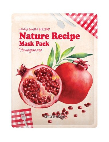 Mascarilla Reafirmante y Revitalizante Secret Key Nature Recipe Mask Pomegranate