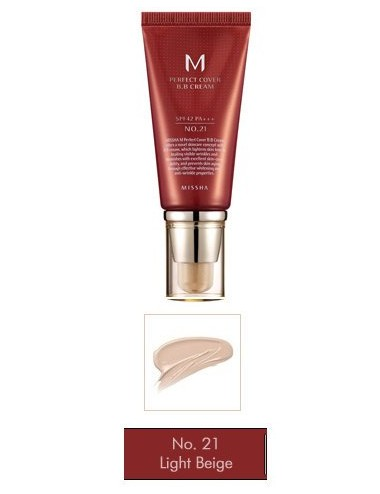M Perfect Cover BB Cream nº 21 SPF 42 PA +++   50ml