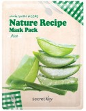 Mascarilla Hidratante y Revilalizante Secret Key Nature Recipe Mask Aloe
