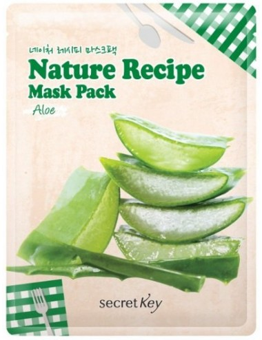 Mascarilla Hidratante y Revitalizante Secret Key Nature Recipe Mask Aloe