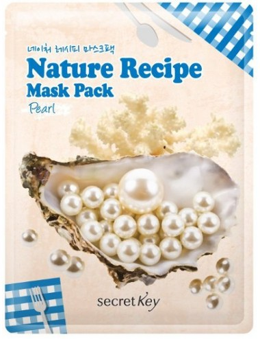 Mascarilla Iluminadora Secret Key Nature Recipe Mask Pearl