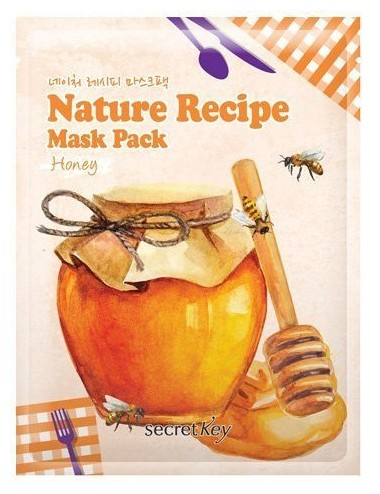 Mascarilla Reafirmante y Nutritiva Secret Key Nature Recipe Mask Honey