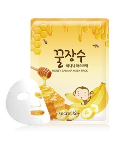 Mascarilla Nutritiva Secret Key Honey Banana Mask Pack