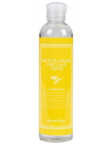 Tónico Anti-poros Secret Key Witch Hazel Pore Clear Toner
