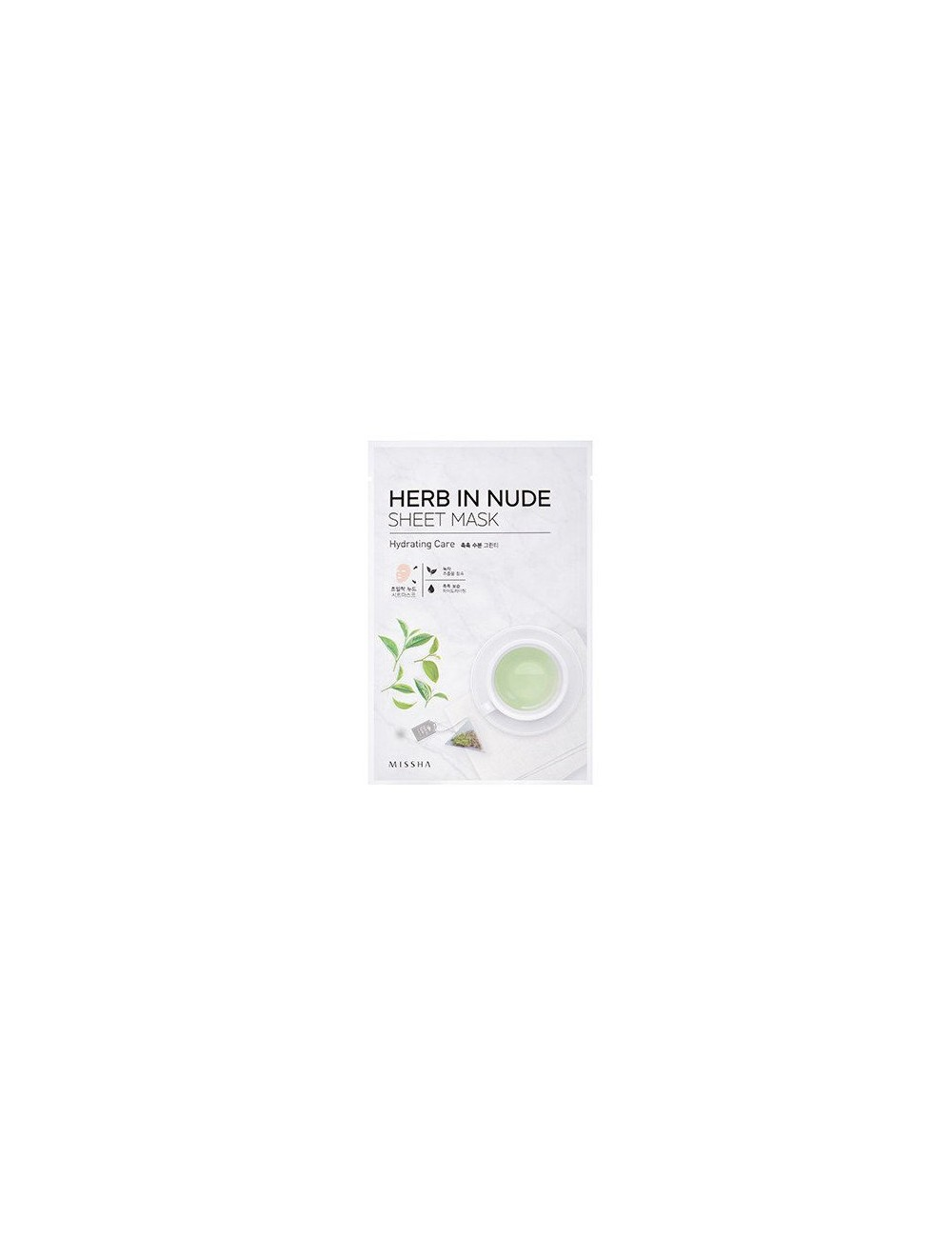Mascarilla Hidratante Herb In Nude Sheet Mask (Hydrating Care)