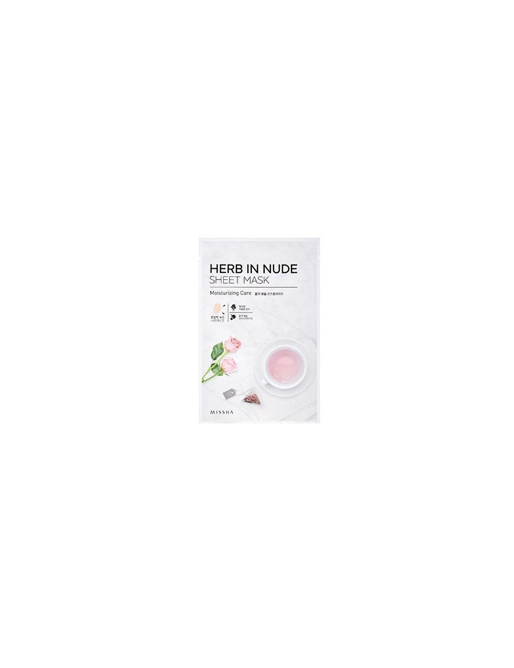 Mascarilla Hidratante Herb In Nude Sheet Mask (Moisturizing Care)