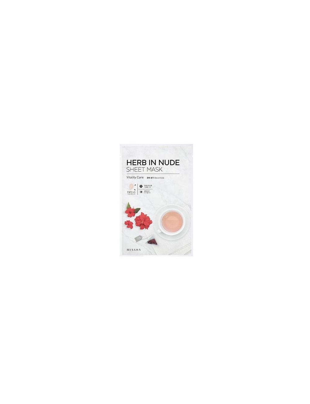 Mascarilla Revitalizante Herb In Nude Sheet Mask (Vitality Care)
