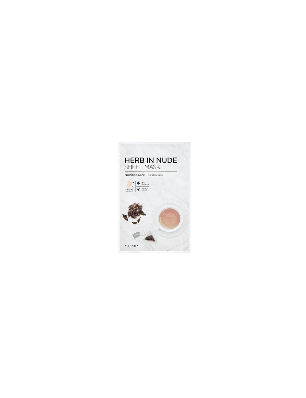 Mascarilla Nutritiva Herb In Nude Sheet Mask (Nutrition Care)