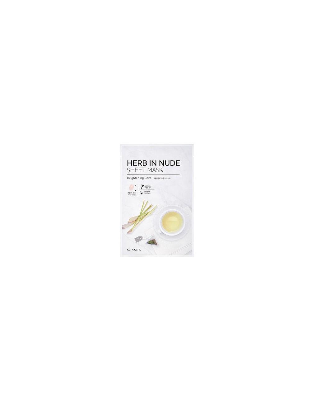 Mascarilla Iluminadora Herb In Nude Sheet Mask (Brightening Care)