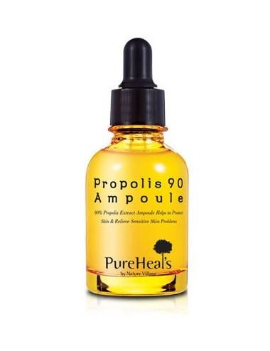 Serum Hidratante y Anti-edad Pureheals Propolis 90 Ampoule