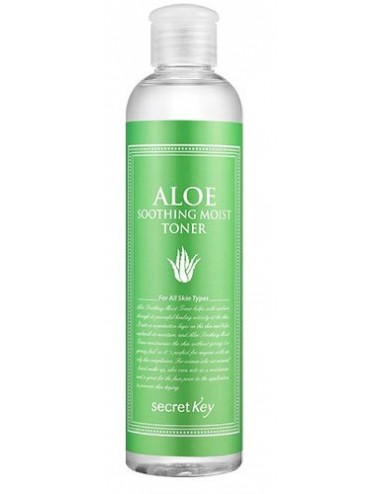 Tónico Hidratante y Calmante Secret Key Aloe Soothing Moist Toner